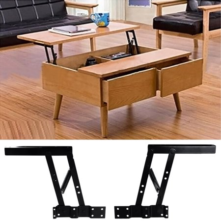 Lift top coffee table hardware mount fitting furniture for Coffee table with hinged top