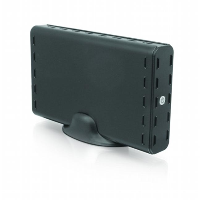 Macally XTR-S350U3 USB 3.0   Plastic External 3.5 in. HDD Enclosure