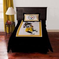 Biggshots Pittsburgh Steelers Troy Polamalu Bedding Comforter Set