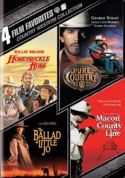 4 Film Favorites: Country Westerns (DVD) by WARNER HOME VIDEO