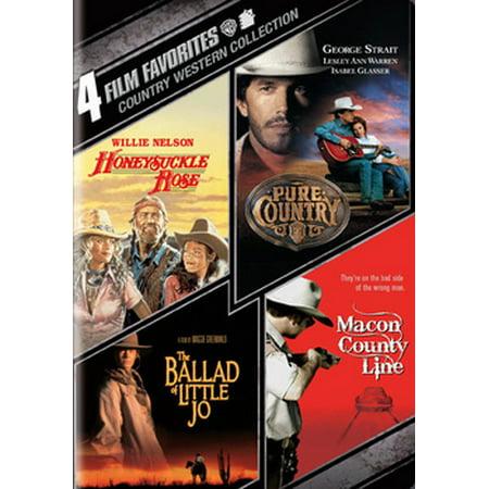 4 Film Favorites: Country Westerns (DVD) - Halloween 4 Film Complet
