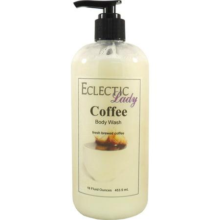 Coffee Body Wash, 16 ounces