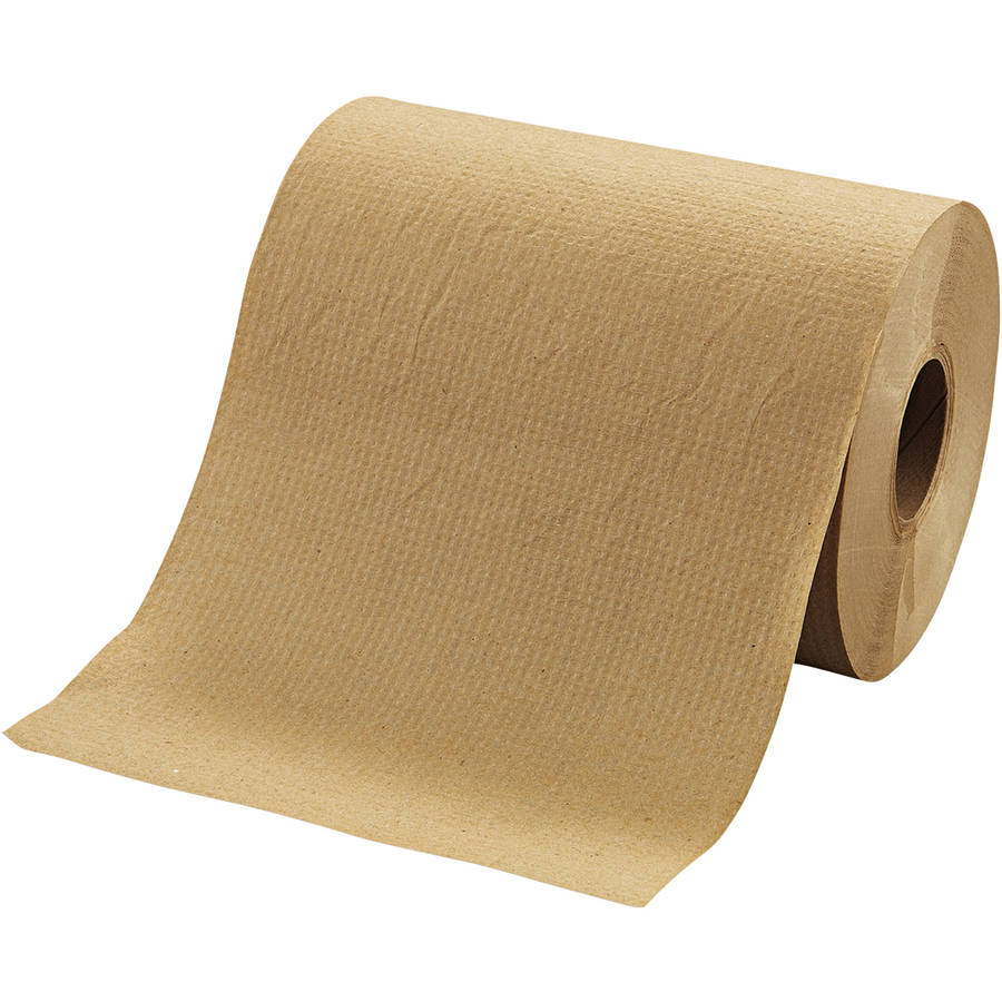 Morcon Paper Brown Hardwound Roll Towels, 12 count