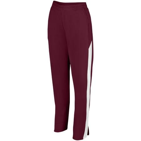 Augusta Sportswear 2Xl Womens Medalist Pant 2 0 Maroon White