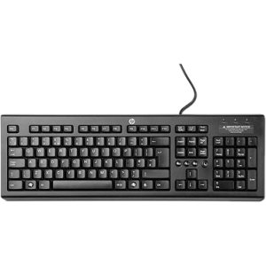 HP WZ972AA#ABA Classic USB Wired Keyboard