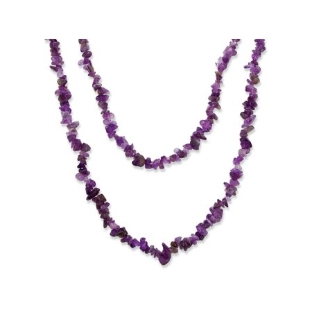 Natural Turquoise Nugget Necklace (Nugget-Cut Genuine Purple Amethyst Necklace)