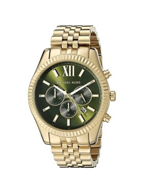 Michael Kors Men's Lexington Gold Tone Chronograph Watch