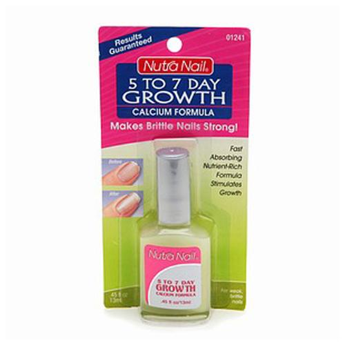 Nutra Nail 5 To 7 Day Growth Calcium Formula - 0.45 Oz, 3 Ea