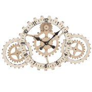 EC World Imports Urban 'Time to Gear Up' Wall Clock