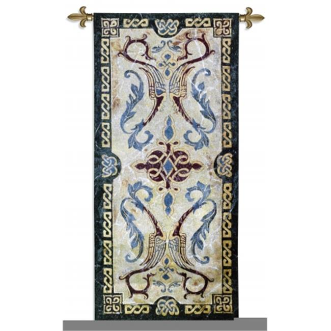 FineArtTapestries 1777-WH Celtic Design II Wall Tapestry by Supplier Generic