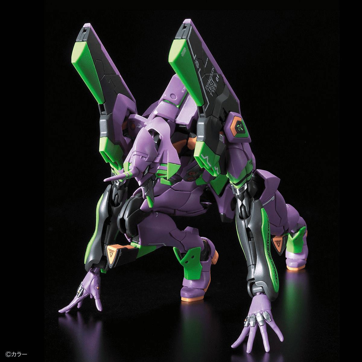 Bandai Real Besoldungsgruppe Rg 1//144 Neon Genesis Evangelion Eva Unit-01