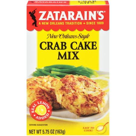 (4 Pack) Zatarain's Crab Cake Mix, 5.75 (Crab Cake Mix)