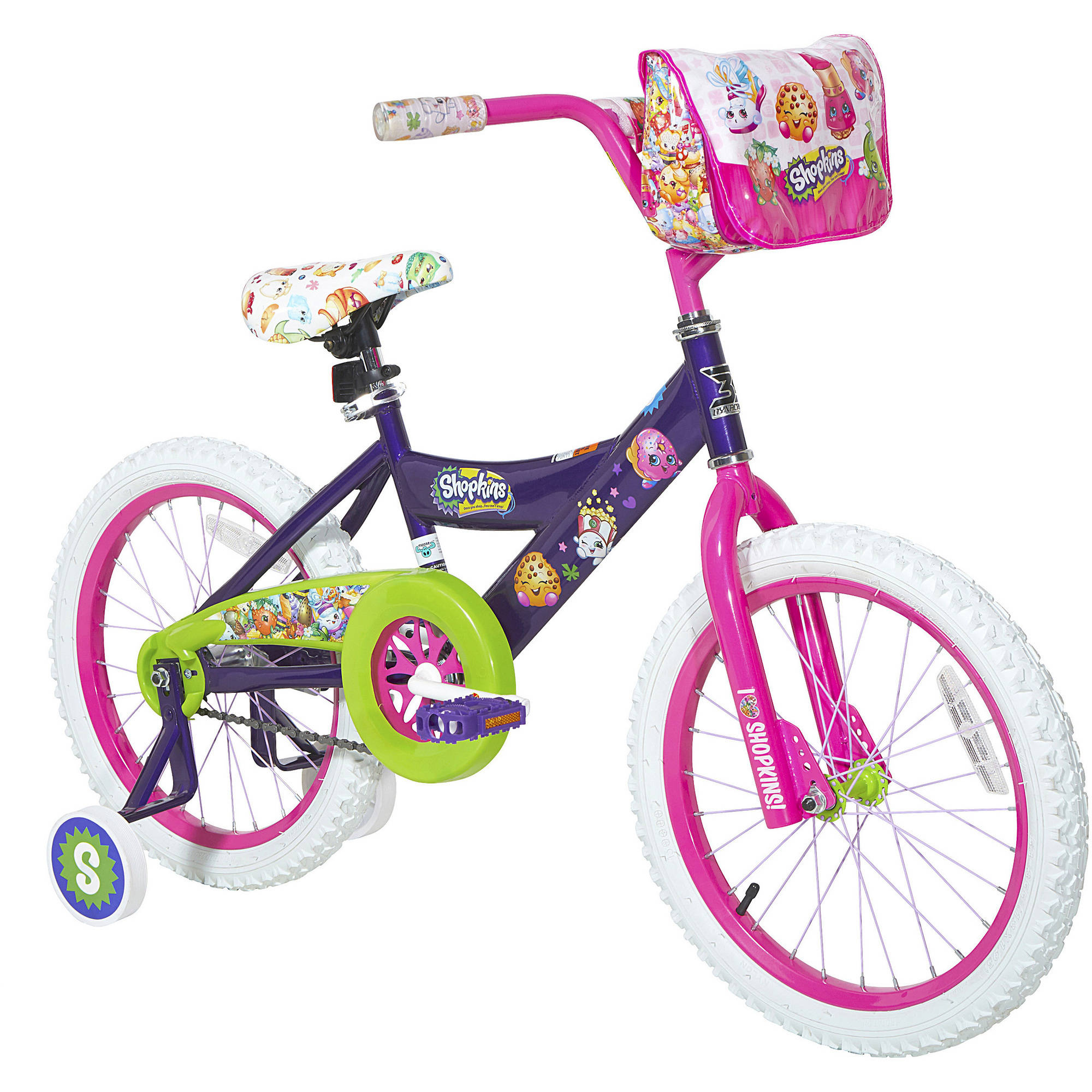 "18"" Dynacraft Shopkins Girls' Bike"