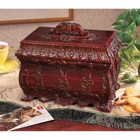 - Design Toscano Tea Caddy Box