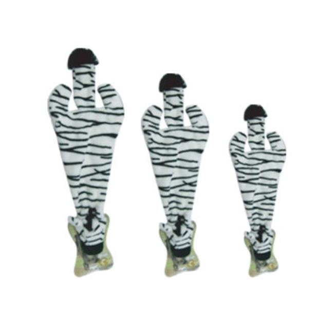 Best Pet Supplies PT46L Zebra 2-in-1 Fun Skin - Large