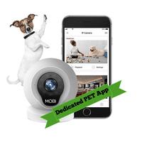 MOBI Pet Smart Night-Vision Wifi Pet Camera and Monitoring System