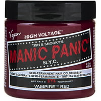 MANIC PANIC Classic High Voltage Semi-Permanent Hair Color 4 Oz, After Midnight