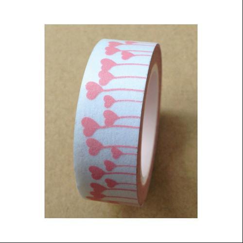 Washi Tape 15mmX10m-Heart Forest