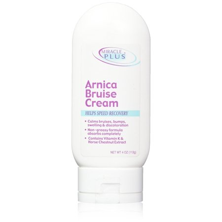 Miracle Plus Arnica Bruise Cream for bruising, swelling, discoloration. - Halloween Bruising