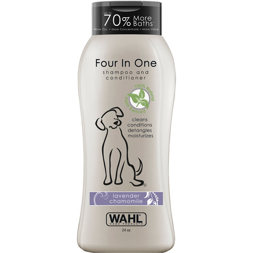 WAHL Four In One Lavender Chamomile Pet Shampoo & Conditioner, 24 oz