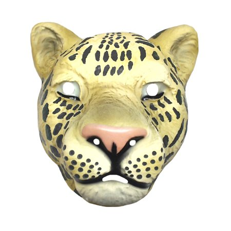 Child Vintage Animal Halloween Mask Safari Plastic Child Costume Accessory Prop - Safari Animal Halloween Costume
