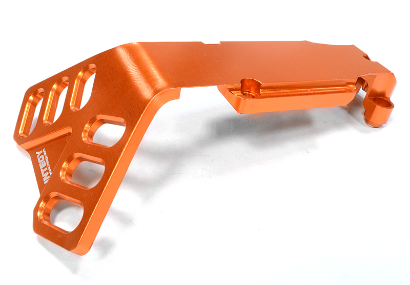 Integy RC Toy Model Hop-ups C25901ORANGE Billet Machined Rear Skid Plate for Traxxas 1 10... by Integy