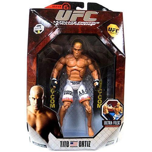 "UFC Ultimate Fighting Deluxe 7"" Action Figure #6: Tito Ortiz"