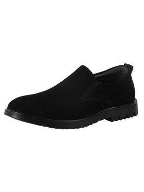 fd985b2e18 Product Image iLoveSIA Men s Suede Leather Casual Slip-ons Walking Loafer  Shoe Black US Size 12
