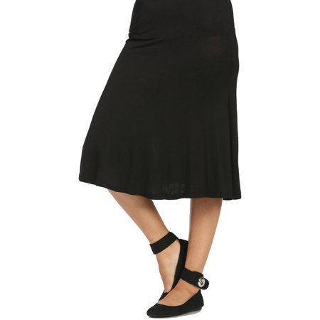 Women's Calf-Length Skirt
