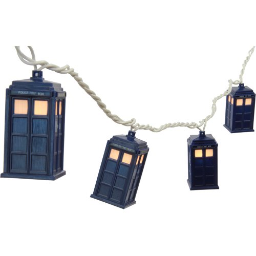 Doctor Who TARDIS String Lights By Rabbit Tanaka