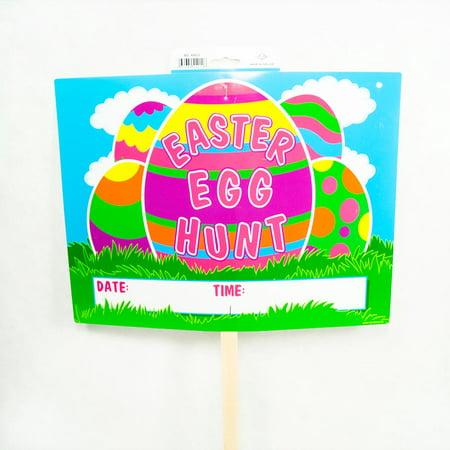 Easter Egg Hunt Yard Sign