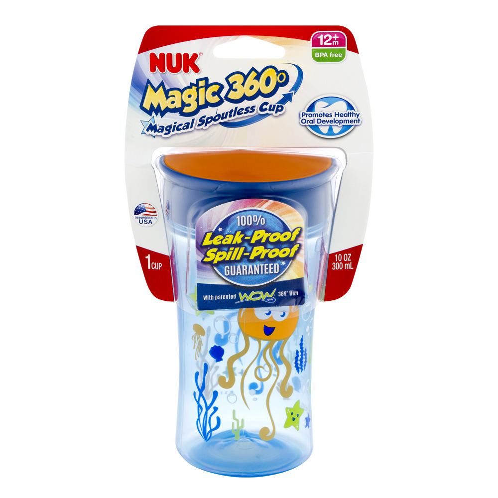 Nuk Magic 360 Cup 12m+ - 1 CT