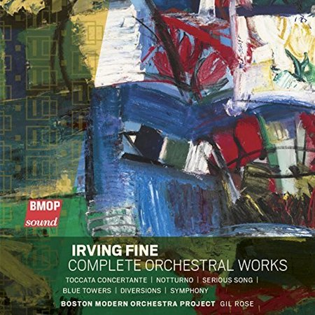 Fine / Boston Modern Orch. Project / Rose, Gil - Irving Fine: Complete Orchestral Works [SACD] (Floyd Rose Fine Tuners)
