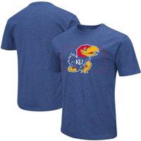 Kansas Jayhawks Colosseum State Outline T-Shirt - Royal