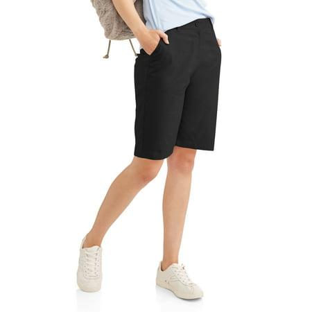 Juniors' School Uniform Stretch Twill Bermuda (Junior Scout Uniform)