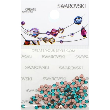 Swarovski 2038 Hot Fix Rhinestones FlatBack 6ss Blue Zircon 115 pcs