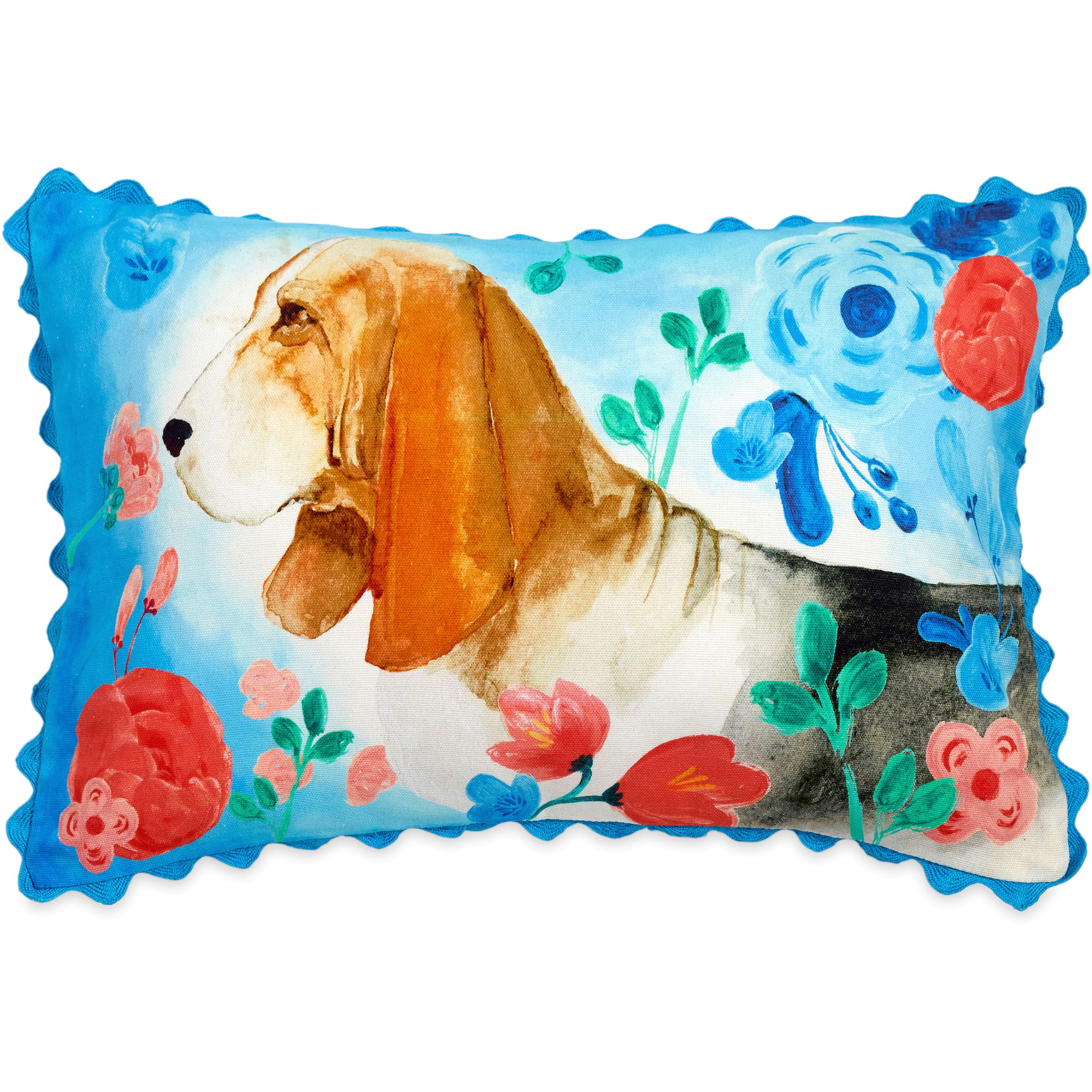 The Pioneer Woman Charlie Dog 12x18 Decorative Pillow by CHF Industries, Inc.