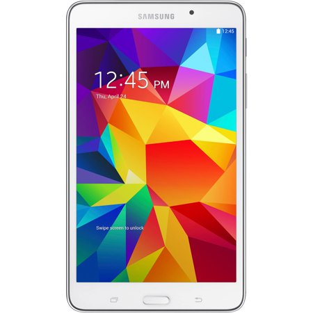 """Samsung Galaxy Tab 4 7.0"""" Tablet 8GB Memory, White"""