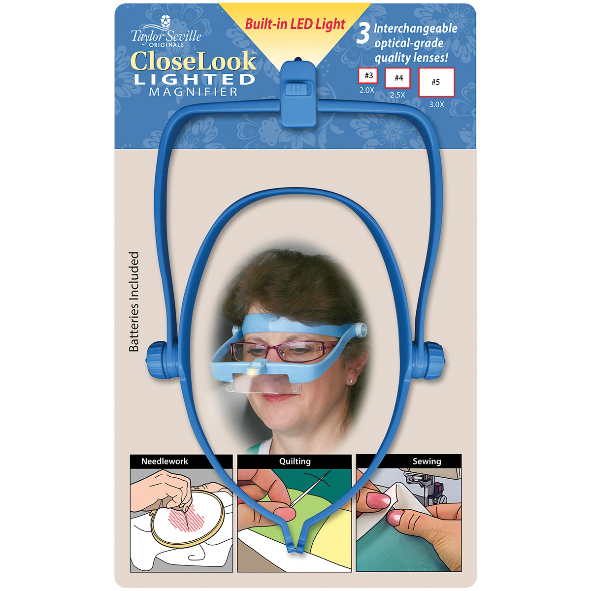 CloseLook Lighted Magnifier-