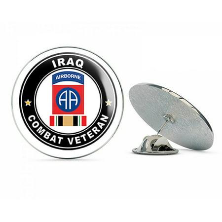US Army 82nd Airborne Iraq Combat Veteran Operation Iraqi Freedom OIF Metal 0.75