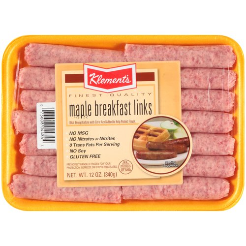 Maple Pork Sausage Links, 1 lb