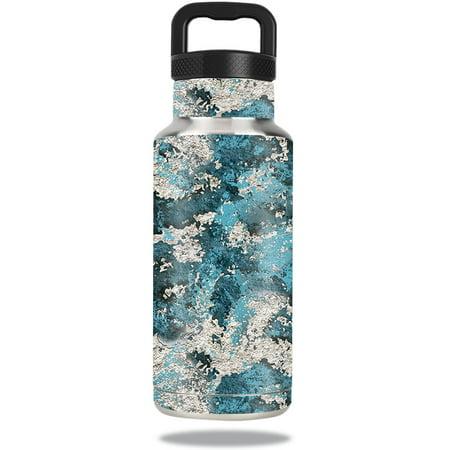 MightySkins Protective Vinyl Skin Decal for Ozark Trail Water Bottle 36 oz wrap cover sticker skins TrueTimber® Rift