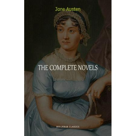 - Jane Austen Collection: The Complete Novels (Pride and Prejudice, Emma, Sense and Sensibility, Persuasion...) - eBook