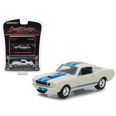 1965 Ford Shelby Mustang GT 350 Fastback White Barrett Jackson Scottsdale Edition Series 2 1-64 Diecast Model Car by Greenlight