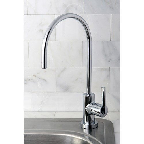 Kingston Brass Continental Gourmetier Water Filtration Kitchen Faucet