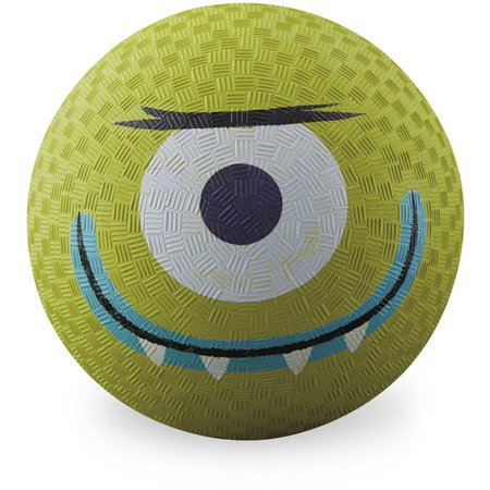 "Crocodile Creek Creetures Alien Playground Ball, 7"", Lime Gr"