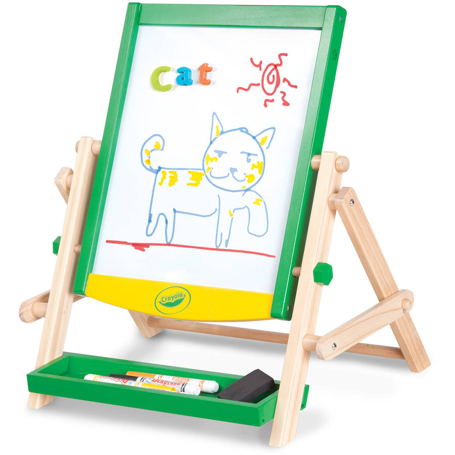 Crayola Wood Qwikflip Table Top Easel by