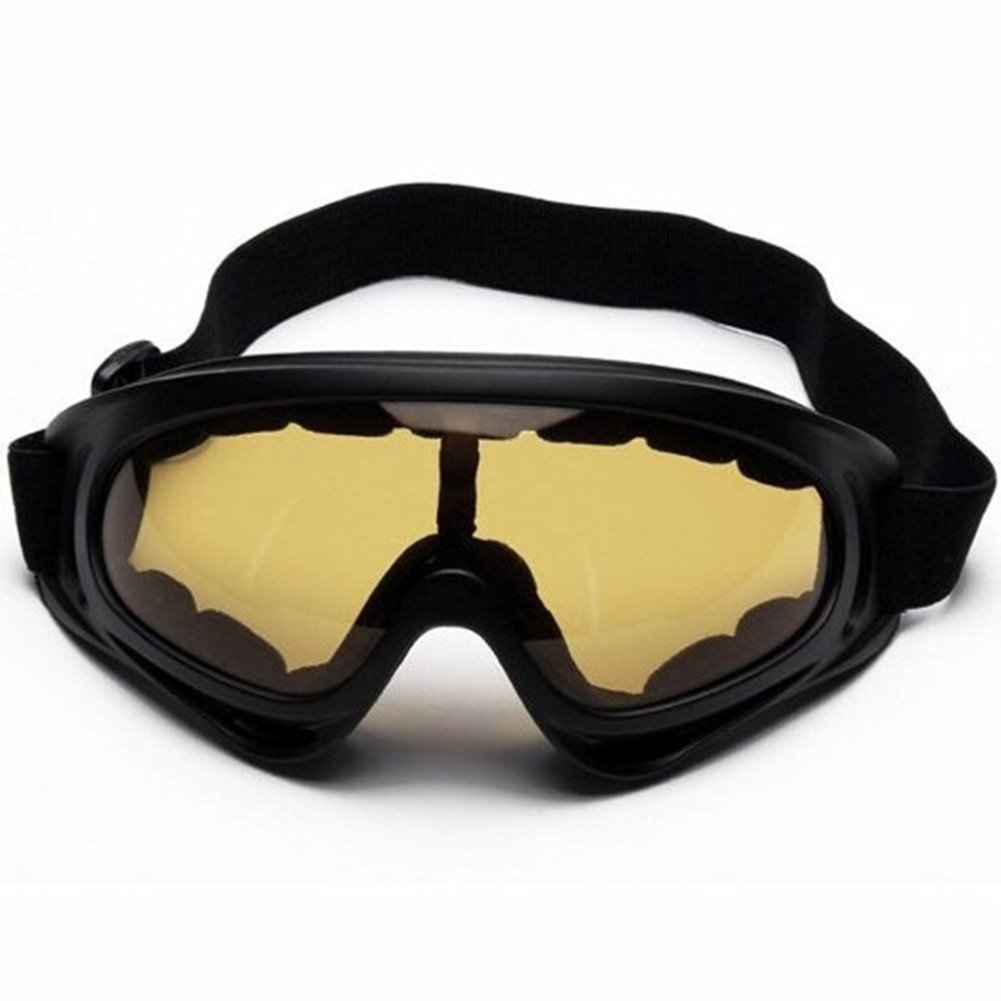 UV Protection Ski Goggles Outdoor Sports Ski Glasses CS Army Tactical Military Goggles Windproof Snowmobile Bicycle... by