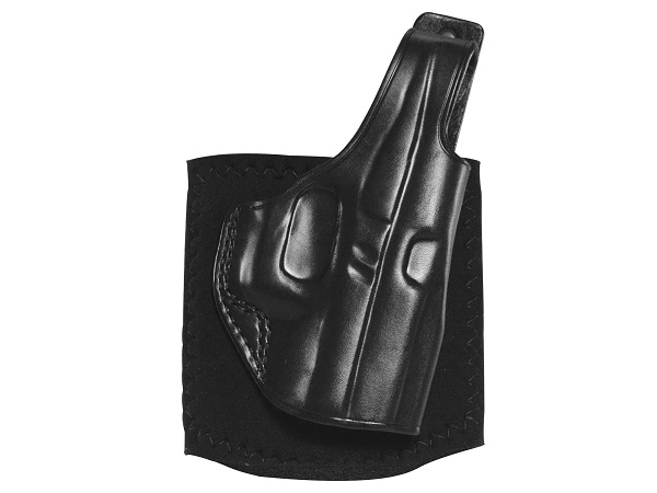 Click here to buy Galco AG801B Black Left Hand Ankle Glove (Ankle Holster) For Glock 43 by Galco.