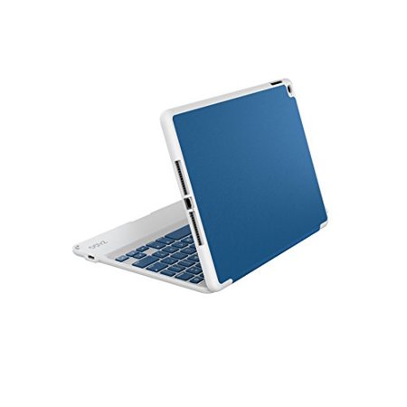 ZAGG Ultra-Slim Folio Case, Hinged Multi-View Bluetooth Keyboard for iPad Air 2 - (Best Ivso Ipad Air Keyboard Cases)